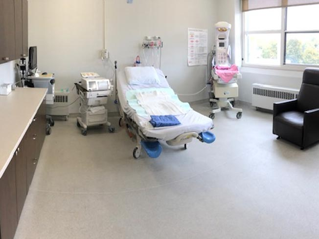 Listowel Hospital's Labour & Baby Delivery Room