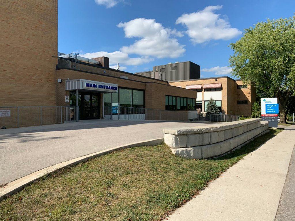 Wingham Hospital Entrance